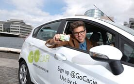 South Dublin County Council launches six new GoCar car sharing bases.